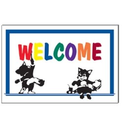 "Welcome Stock Postcard (4""x6"")"