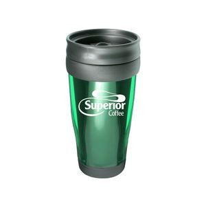 Translucent 15 Oz Travel Tumbler