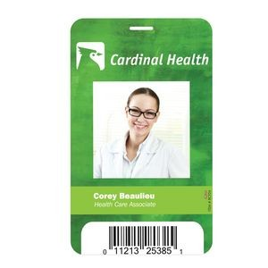 "Plastic Identification Badge - 3 5/8""x5 1/2"""